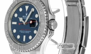 ROLEX OYSTER PERPETUAL DATE YACHT MASTER 40 126622 ROLESIUM BLUE