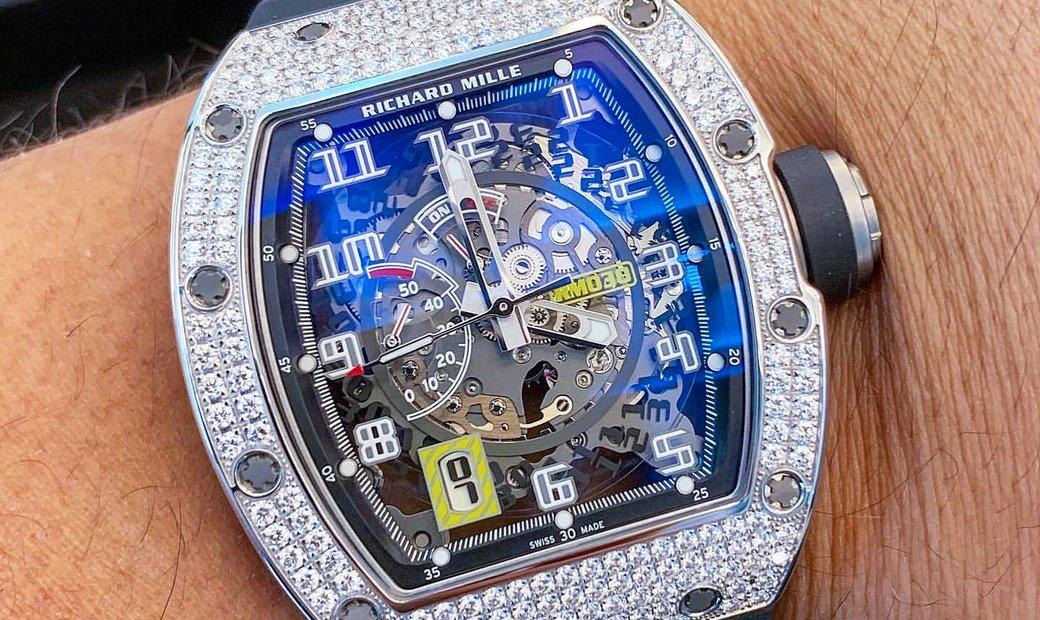 Richard Mille [NEW] RM 030 White Gold Diamonds Watch
