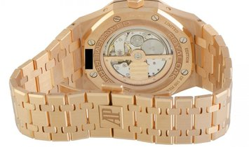 Audemars Piguet Royal Oak Rose Gold Latin America Edition Watch 26584OR.OO.1220OR.01