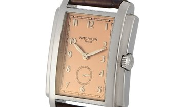 Patek Philippe Patek Philippe Gondolo White Gold Watch 5024G-001