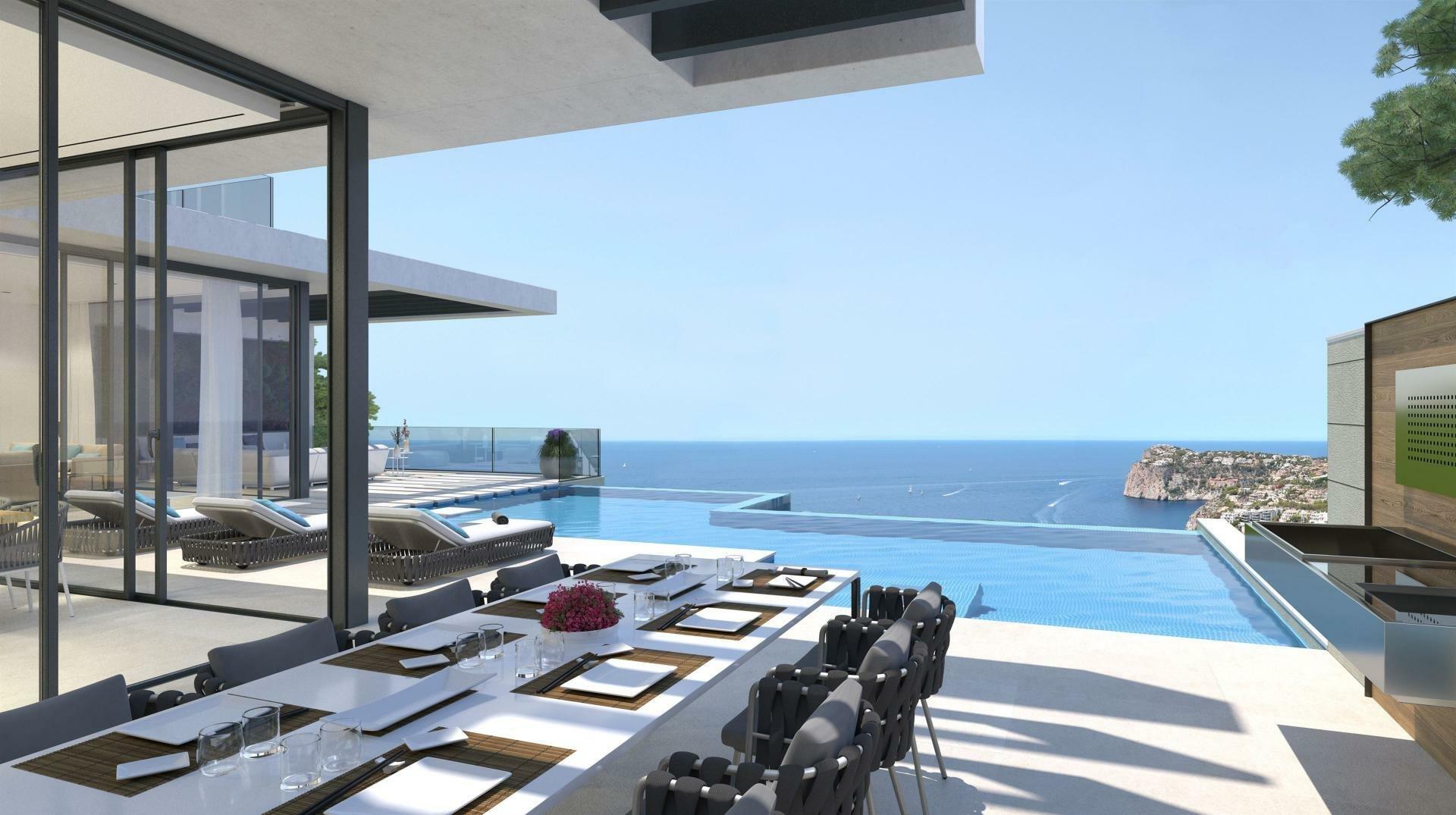Villa in Port d'Andratx, Balearic Islands, Spain 1