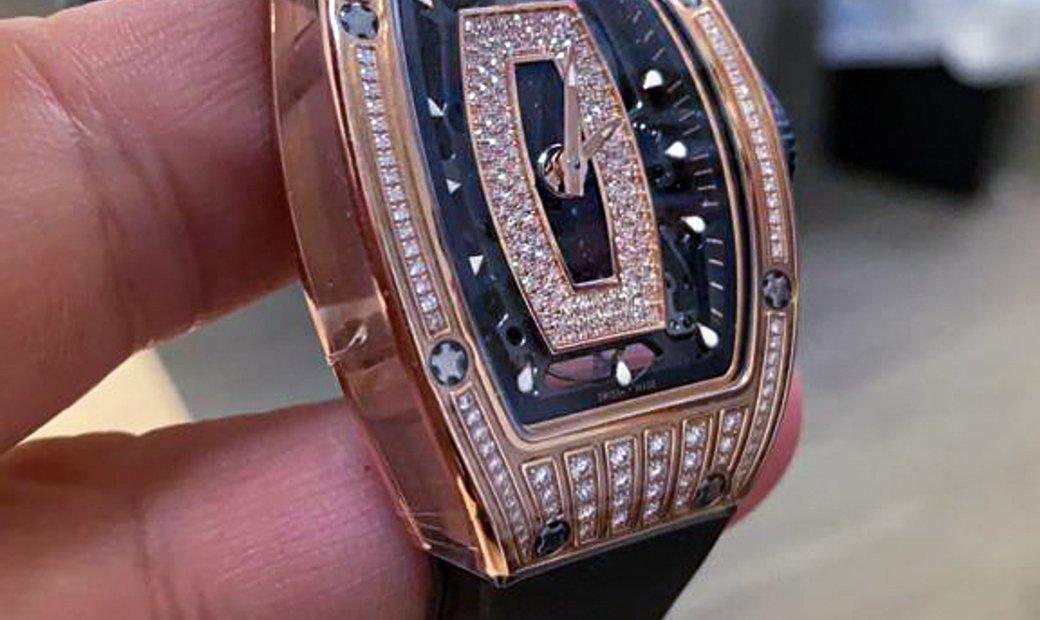 Richard Mille [2017 LIKE NEW] RM 07-01 Rose Gold Med Set Diamonds