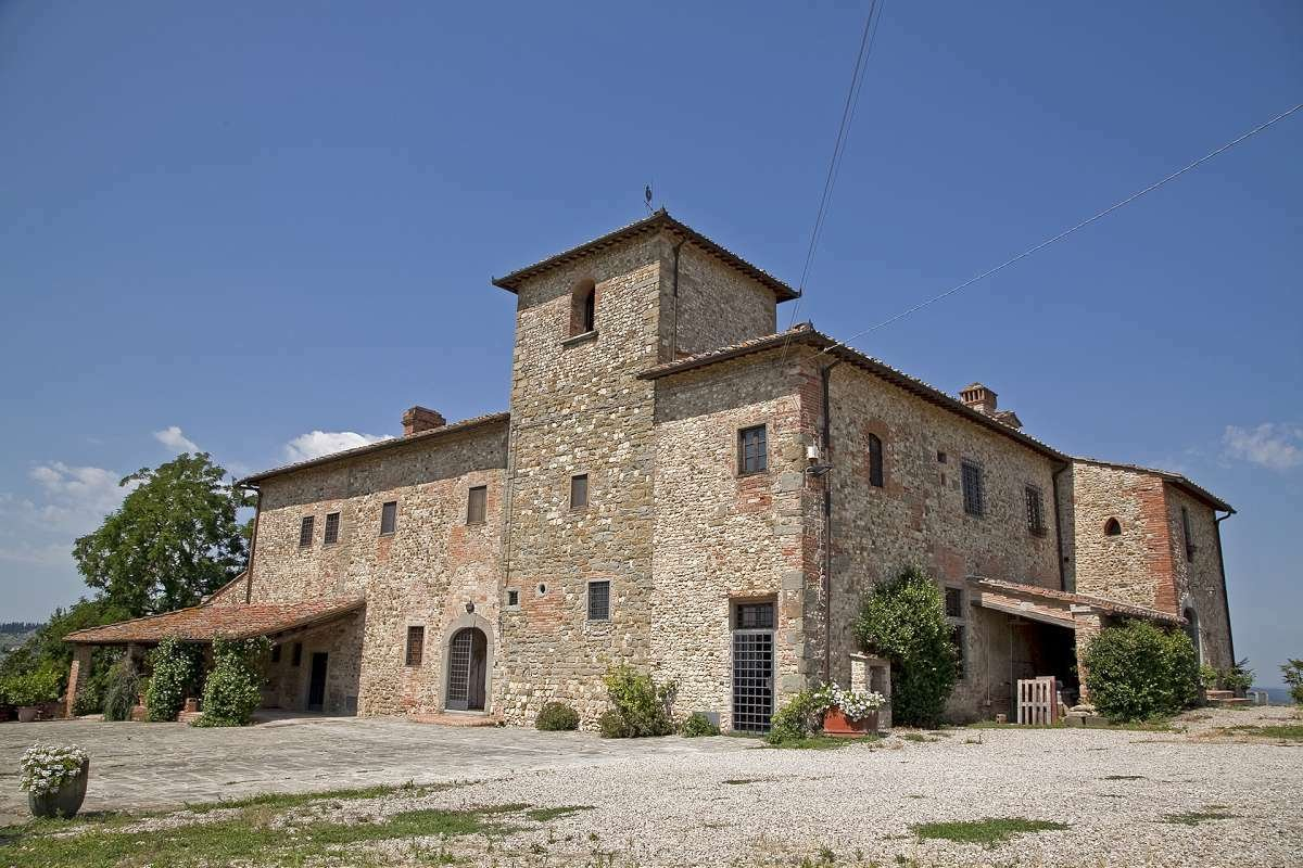 Villa in Montaione, Tuscany, Italy 1