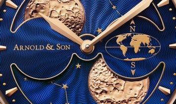 ARNOLD & SON HM DOUBLE HEMISPHERE PERPETUAL MOON