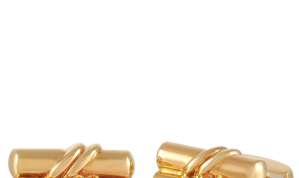 Tiffany & Co. Tiffany & Co. 18K Yellow Gold Cufflinks