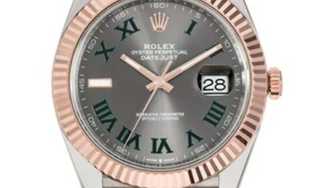 ROLEX OYSTER PERPETUAL DATEJUST 41 126331 SLRJ