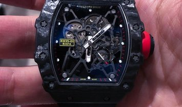 Richard Mille [NEW] RM 35-01 Rafael Nadal NTPT Carbon Watch