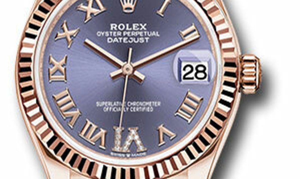ROLEX OYSTER PERPETUAL DATEJUST 31 278275 AUBDR6P