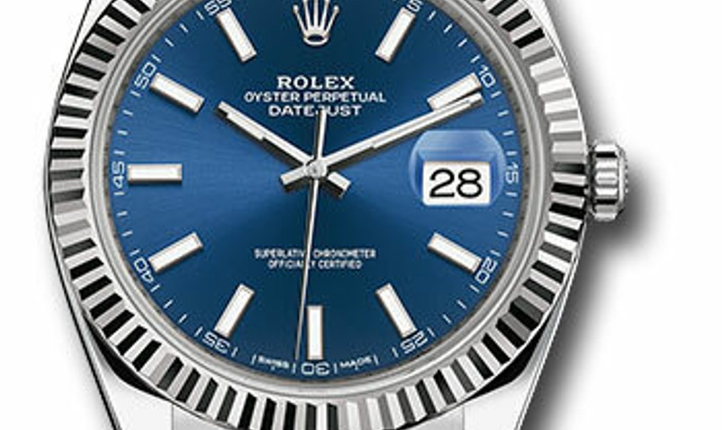 ROLEX OYSTER PERPETUAL DATEJUST 41 126334 BLIO