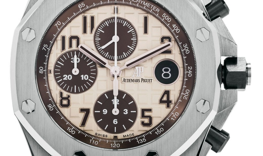 AUDEMARS PIGUET RO OFFSHORE CHRONOGRAPH 26470ST.OO.A801CR.01 IVORY DIAL