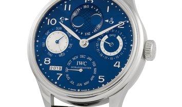 IWC IWC Perpetual Calendar III Hemisphere Blue Dial Watch IW502121