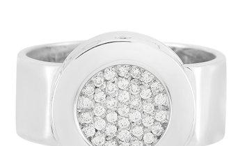 Chanel Chanel 18K White Gold Diamond Ring