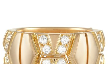 Cartier Cartier 18K Yellow Gold 1.00 ct Diamond Band Ring