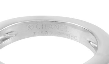Chanel Chanel Platinum 0.75 ct Diamond Ring