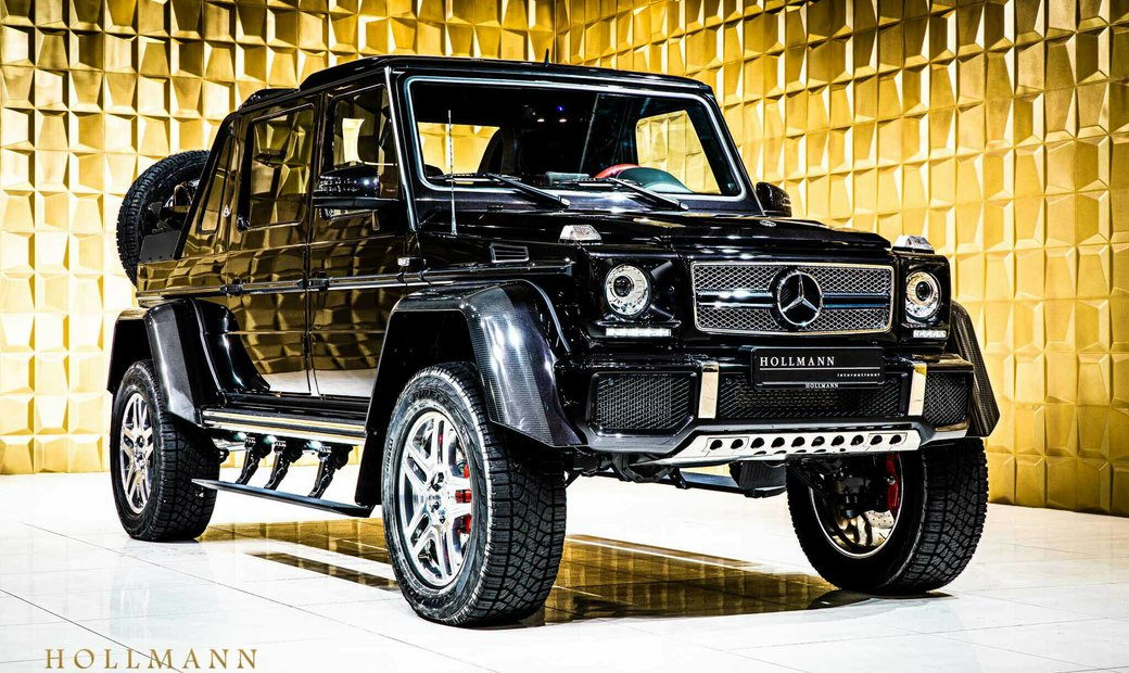 MAYBACH MERCEDES-BENZ MAYBACH G 650 LANDAULET