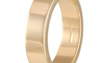 Gucci Gucci 18K Yellow Gold Citrine Band Ring