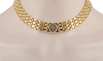 Bvlgari Bvlgari Vintage Monete 18K Yellow Gold and Rose Gold Thracia Lysimachos Coin Necklace