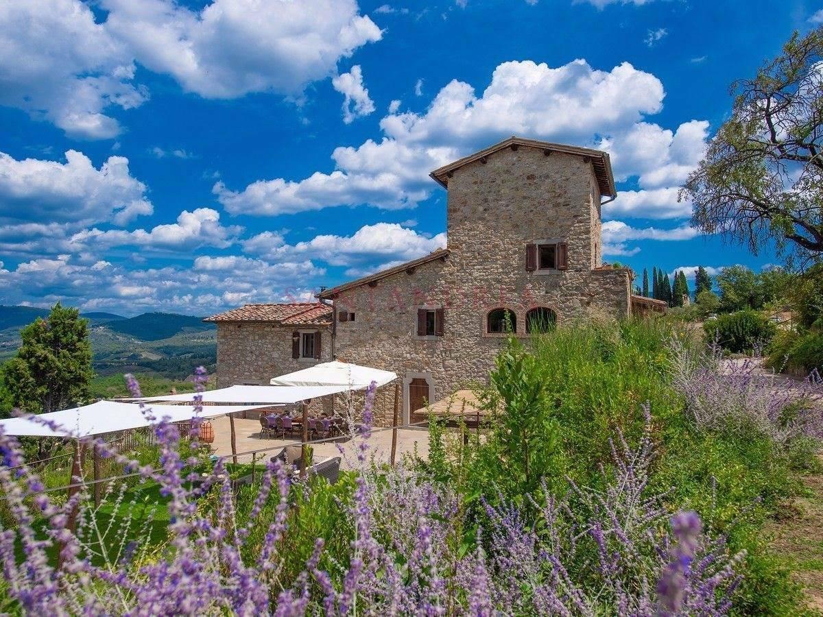Villa in Greve in Chianti, Tuscany, Italy 1