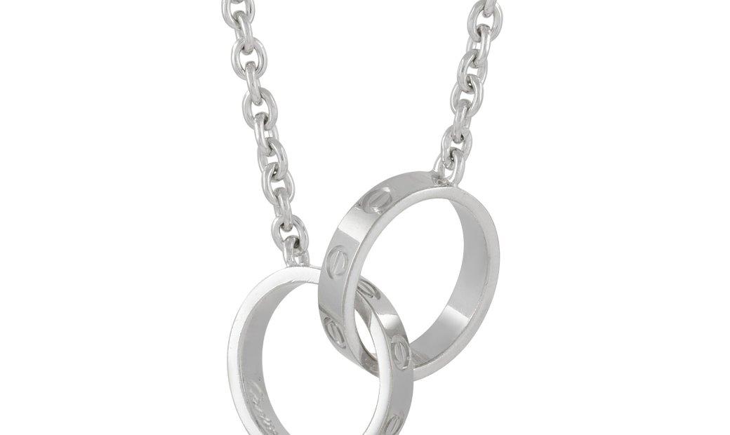 Cartier Cartier LOVE 18K White Gold Pendant Necklace