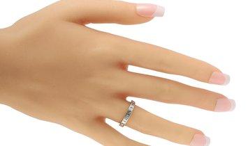 LB Exclusive LB Exclusive Platinum 1.50 ct Diamond Band Ring