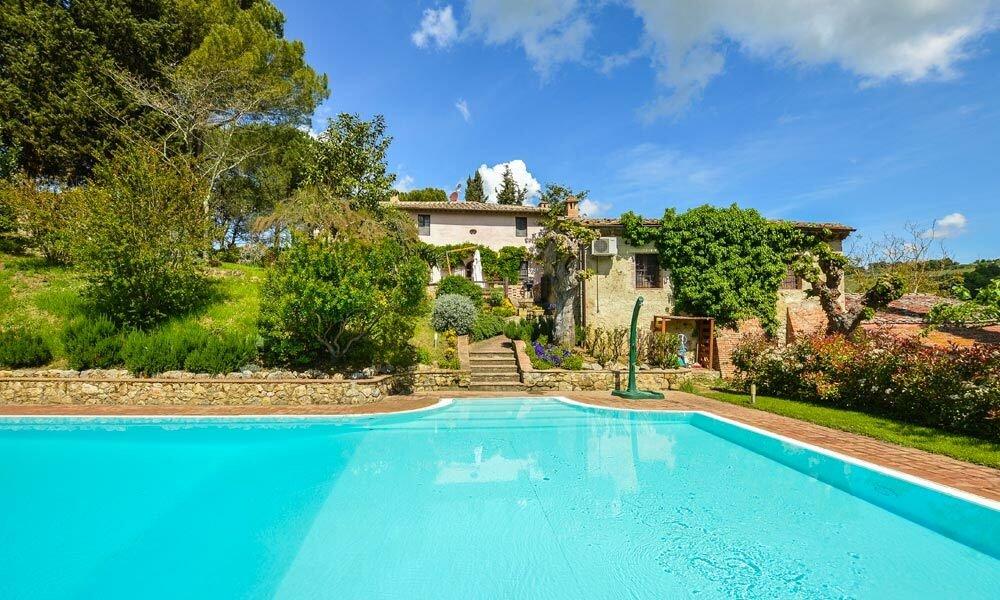 Farm Ranch in San Gimignano, Tuscany, Italy 1 - 11395133