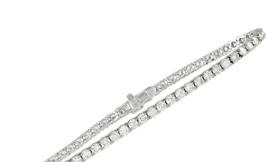 LB Exclusive LB Exclusive 14K White Gold 4.65 ct Diamond Bracelet