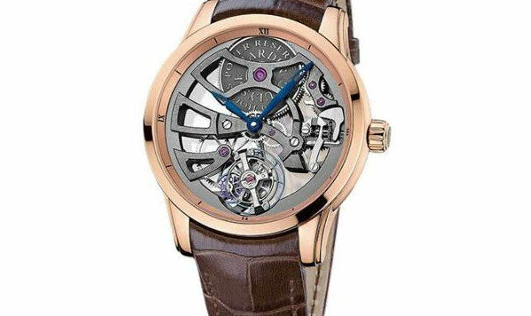 ULYSSE NARDIN SKELETON TOURBILLON 1702-129 LIMITED EDITION