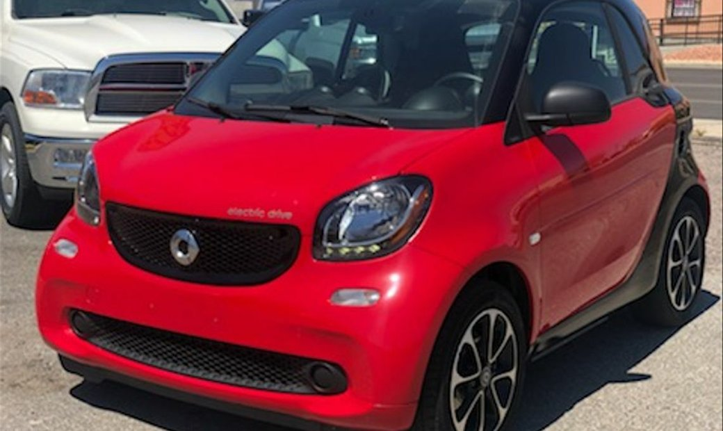 2017 smart fortwo electric drive Passion Hatchback Coupe 2D