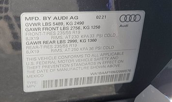 2021 Audi Q5  quattro