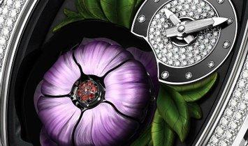 Richard Mille RM 19-02 Tourbillon Fleur Full Set Diamonds Watch