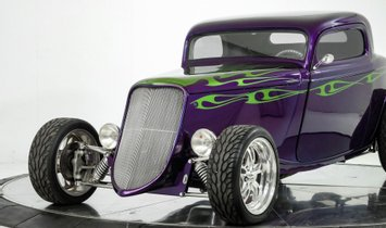 1933 Ford Custom Coupe Alloway Body - Stunning Build