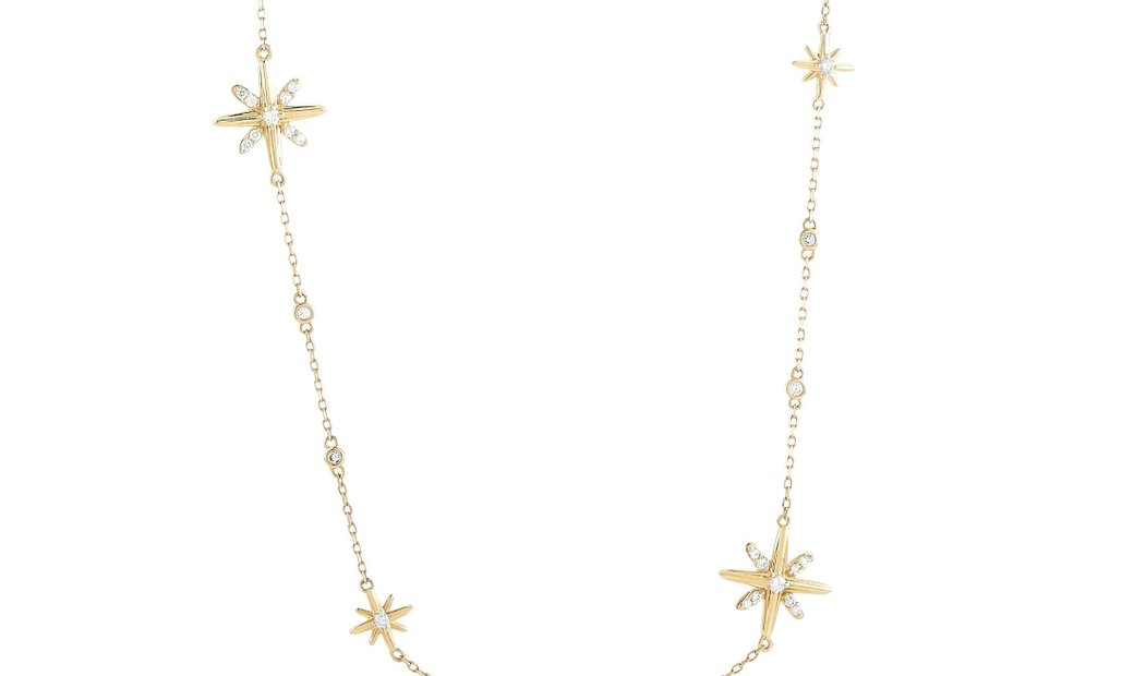 LB Exclusive LB Exclusive 14K Yellow Gold 1.00 ct Diamond Necklace