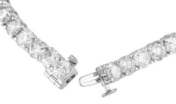 LB Exclusive LB Exclusive 14K White Gold 15.00 ct Diamond Bracelet