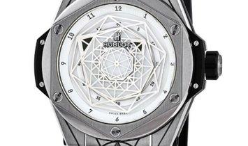 HUBLOT BIG BANG SANG BLEU TITANIUM WHITE 415.NX.2027.VR.MXM18