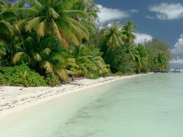 Land in Bora-Bora, Leeward Islands, French Polynesia 1