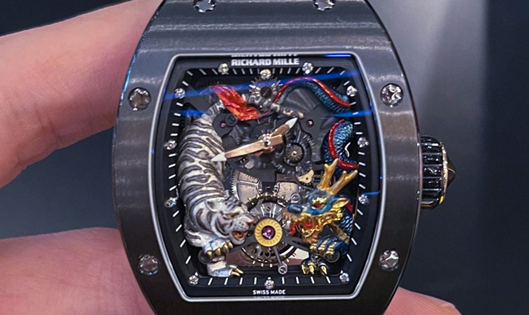 Richard Mille [LIMITED 1 PIECE] RM 51-01 Tourbillon Tiger And Dragon Michelle Yeoh