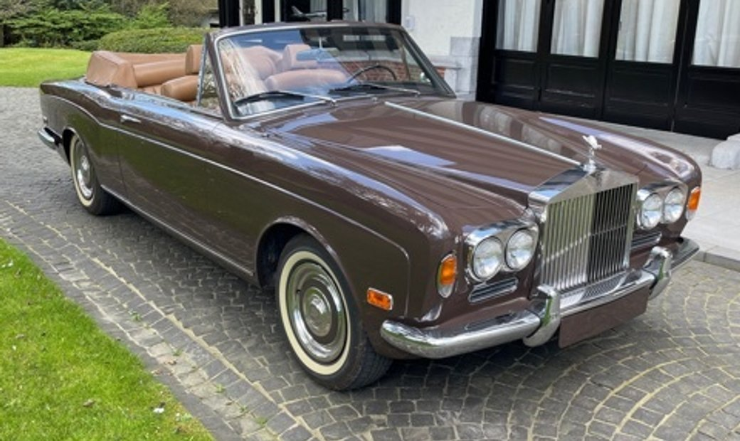 1970 Rolls-Royce Silver-Shadow drophead