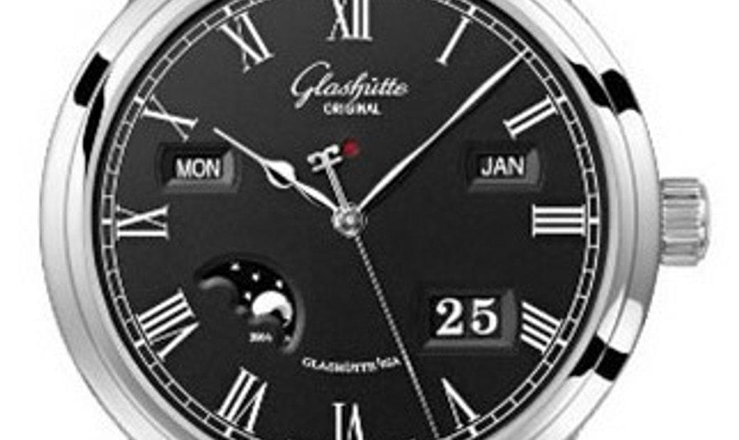 GLASHUTTE ORIGINAL SENATOR PERPETUAL CALENDAR 42MM 100-02-25-12-05
