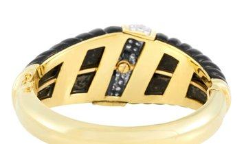 LB Exclusive LB Exclusive 18K Yellow Gold 2.50 ct Diamond And Onyx Bracelet