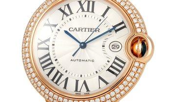 Cartier Cartier Ballon Bleu 42mm Rose Gold Watch WE900851