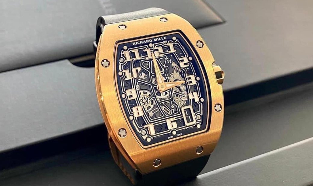 Richard Mille [2016 MINT] RM 67-01 Rose Gold Automatic Extra Flat