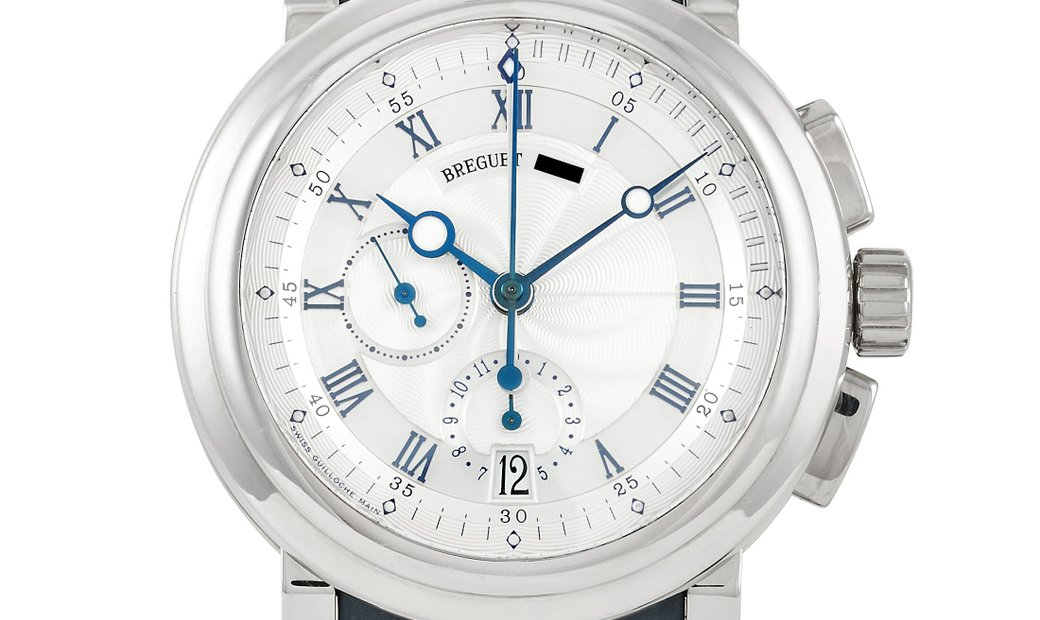 Breguet Breguet Marine Royal Chronograph 48 mm Stainless Steel Watch 5827BB/12/5ZU
