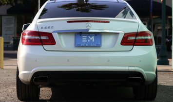 2013 Mercedes-Benz E-Class E 550 Coupe 2D