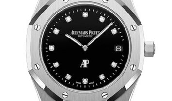 Audemars Piguet Royal Oak Limited Platinum Factory Diamond Dial Watch 15206PT.OO.1240PT.01