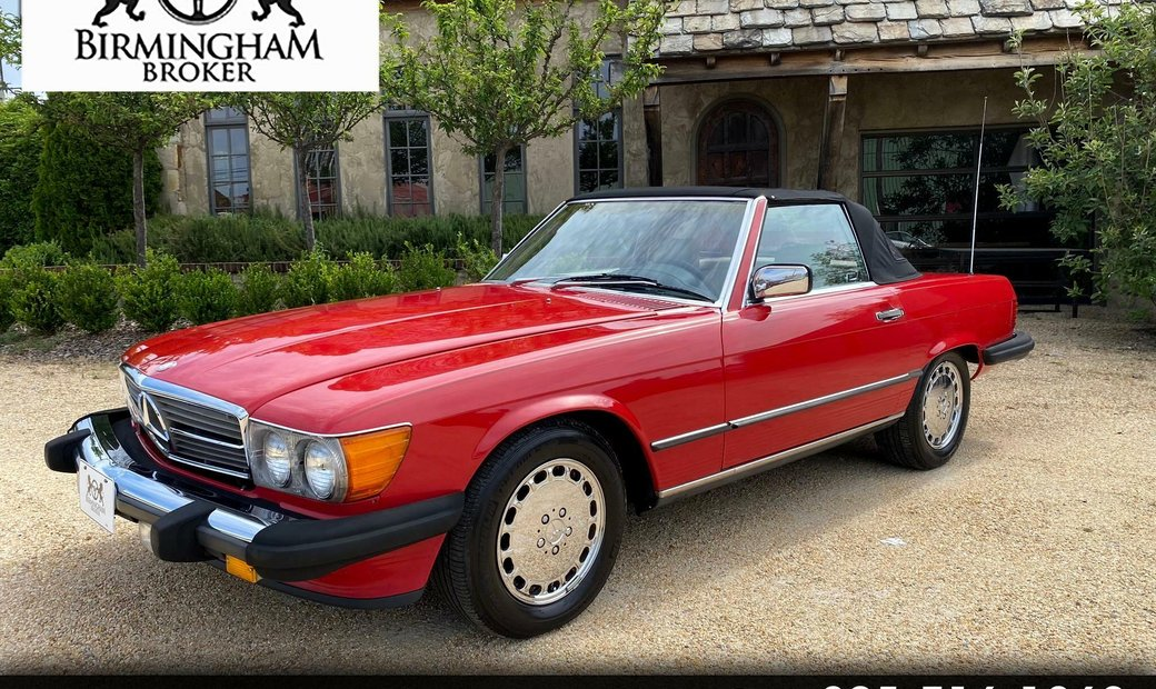 1988 Mercedes-Benz 560 Series 2dr Roadster 560SL