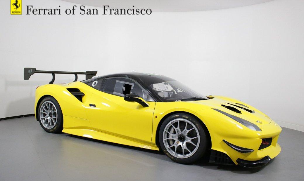 2017 Ferrari 488 Challenge Race car