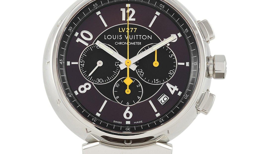 Louis Vuitton Louis Vuitton Tambour Automatic Chronograph Watch LV277