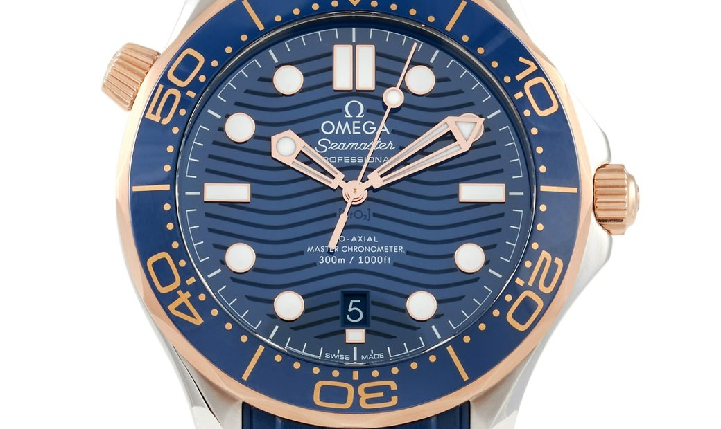 Omega Omega Seamaster Blue Sedna Co-Axial Master Chronometer Watch 210.22.42.20.03.002