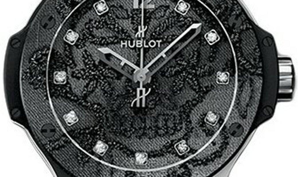 HUBLOT BIG BANG BRODERIE DIAMOND DIAL 41MM STAINLESS STEEL 343.SS.6570.NR.BSK16