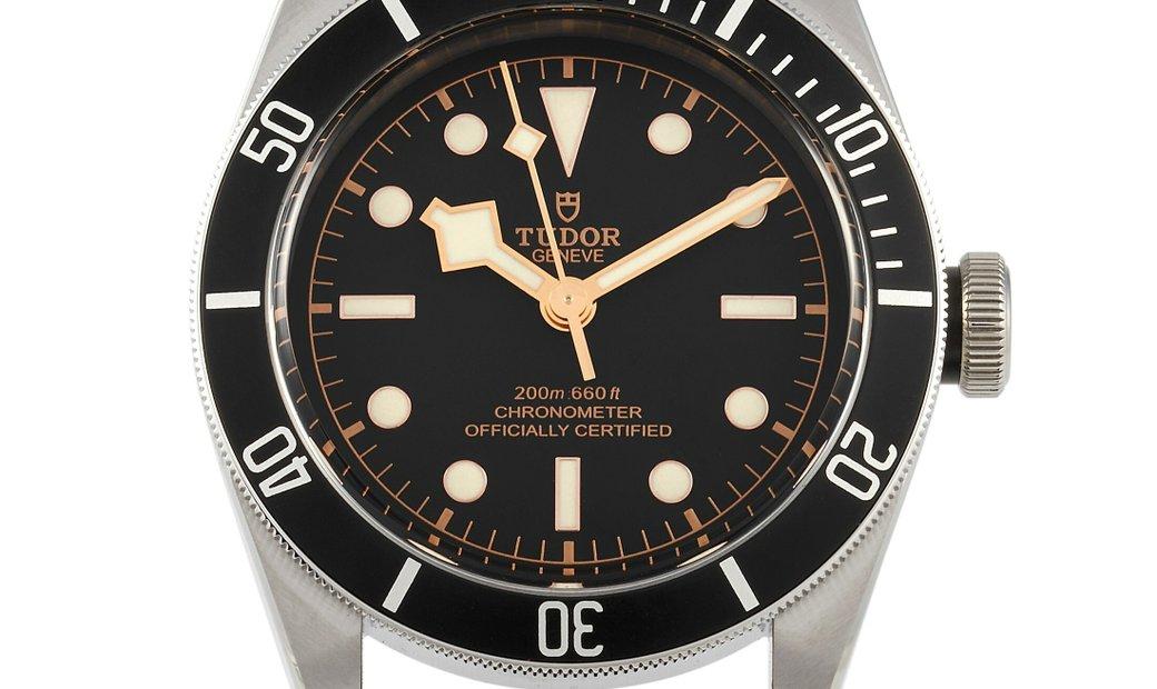 Tudor Tudor Heritage Black Bay Leather Watch 79230N